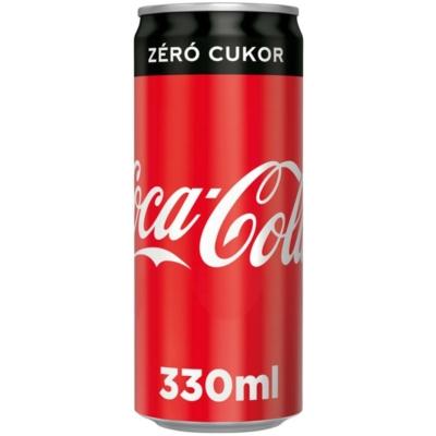 Coca-Cola ZERO       0,33ldobozos 24#