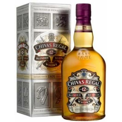Chivas Regal Whisky 0,7L 40% PDD 12/#