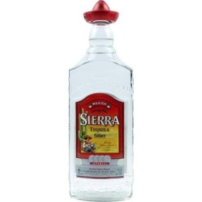 Tequila Sierra Silver  38%   1,0lx6