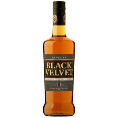 Black Velvet Whisky 40%       0,7l
