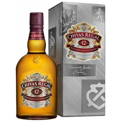Chivas Regal Whisky 1,0L 40% PDD 12/#