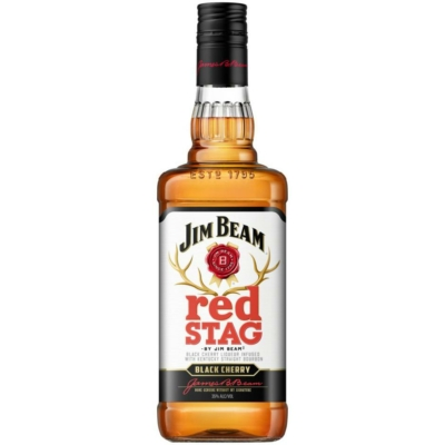 Jim Beam 40% Red Stag Whiskey 0,7lx6