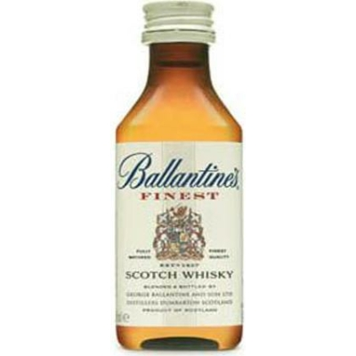 Ballantine s Finest Wh. 40%  0,05lx12