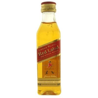Johnnie Walker Red Label 40% 0,05lx12