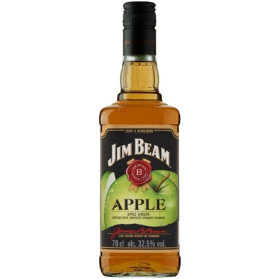 Jim Beam 32,5% Apple Whiskey   0,7lx6