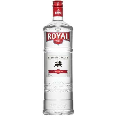 Royal vodka 1,0l 37,5%            6/#