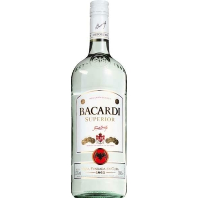 Bacardi Superior      37,5%   1,0lx12