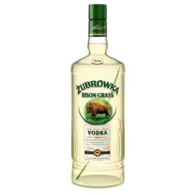 Zubrowka 37,5% Bison Grass Vodka 1,0l