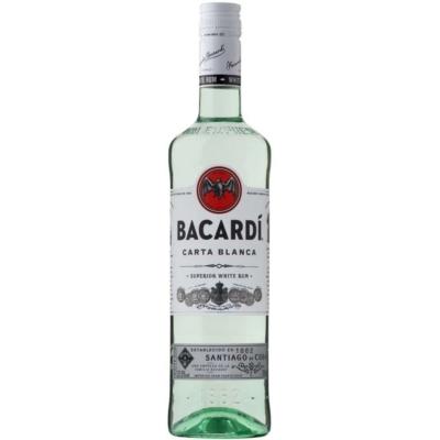 Bacardi Carta Blanca  37,5%   0,7lx6