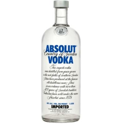 Absolut Vodka Blue     40%    1,0lx12