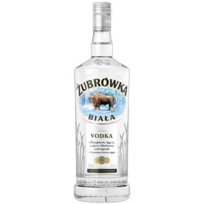 Zubrowka 37,5%  Biala  Vodka  1,0l/12