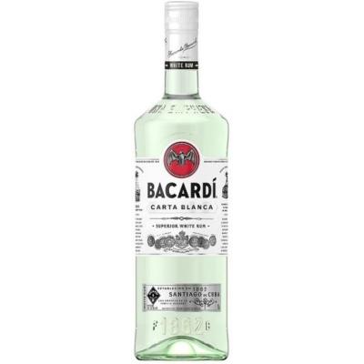 Bacardi Carta Blanca  37,5%   1,0lx12