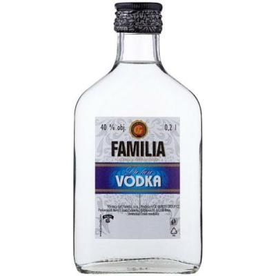 FAMILIA VODKA 0,2l 37,5% laposüv.12/#