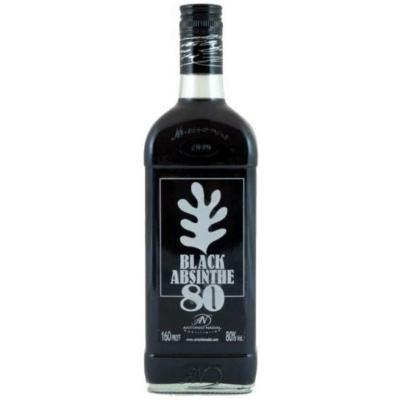 Tunel Absinthe  Black  80%     0,7lx6