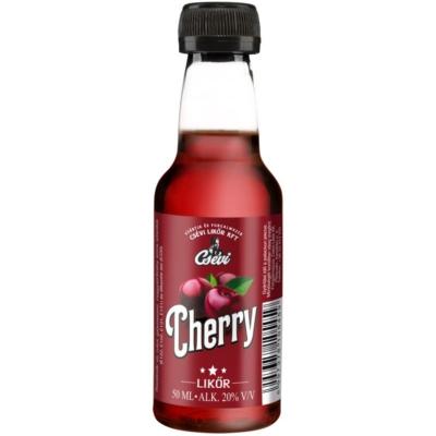 Csévi Cherry likőr  20%      0,05lx24