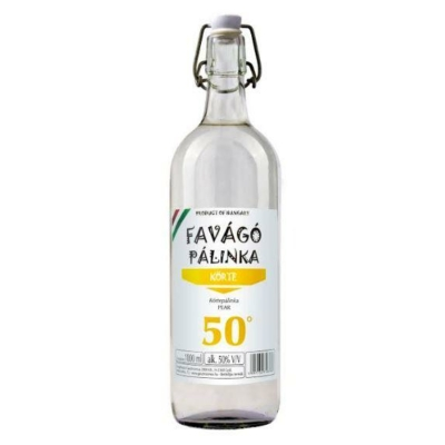FAVÁGÓ 50% Körte pálinka      1,0Lx12