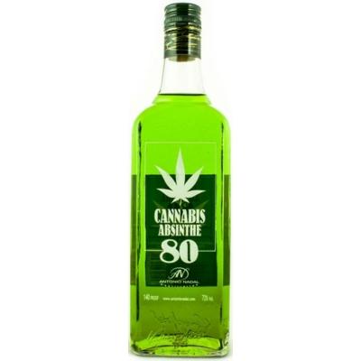 Tunel Absinthe Cannabis  70%   0,7lx6