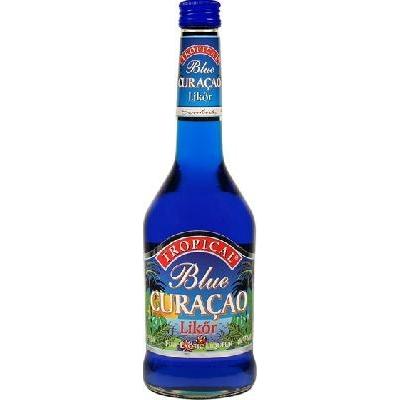 Blue Curacao likőr Tropical 15% 0,5l