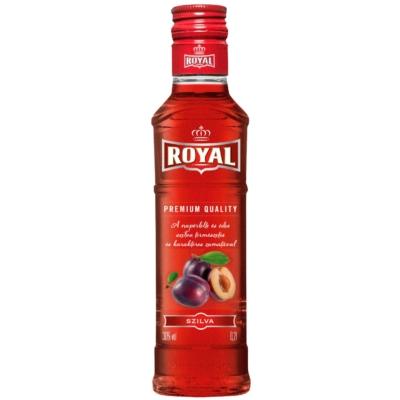 Royal 28% Szilva likőr   0,2l    20/#