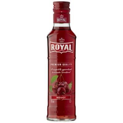 Royal 30% Meggy  likőr   0,2l    20/#