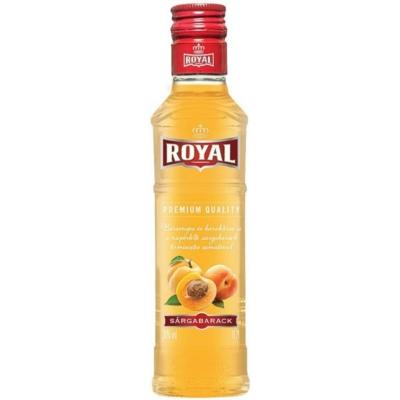 Royal 30% Sárgabarack likőr 0,2l 20/#