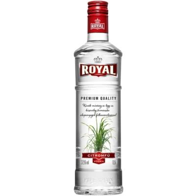 Royal 37,5% Citromfű vodka  0,5l 15/#
