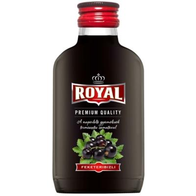 Royal 30% F.ribizli likőr  0,1l  12/#