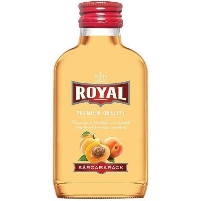Royal 30% Sárgabarack likőr0,1l  12/#