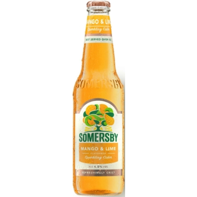 Somersby Cider Mango-Lime    0,33lx24