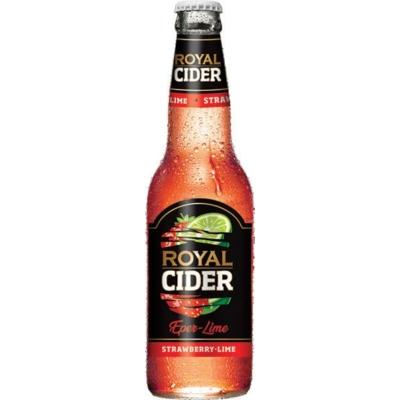 Royal  Cider Eper-Lime ízű ital0,275l