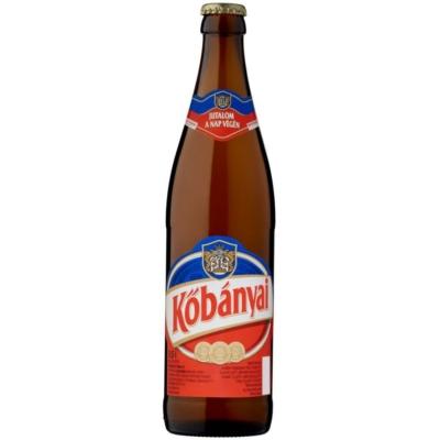 Kőbányai sör          20x0,5l  üveges