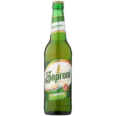 Soproni Sör       4,5% 20x0.5  üveges