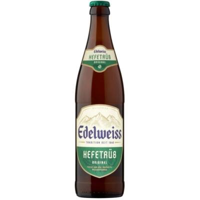 Edelweiss Hefe  5,3%   20x0,5  üveges