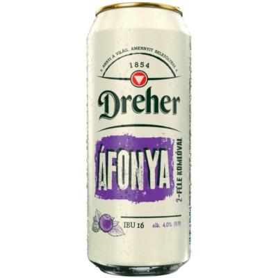 Dreher Áfonya sör 4% hazai24x0,5doboz