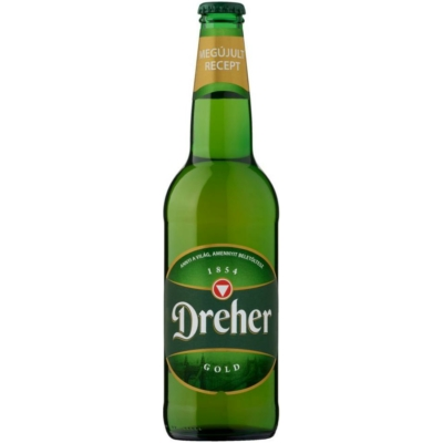 Dreher Gold            20x0,5  üveges