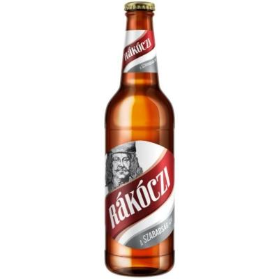 Rákóczi világos sör 4,1% 20x0,5üveges