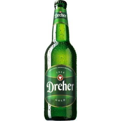 Dreher Gold    5,0%    24x0,33 üveges
