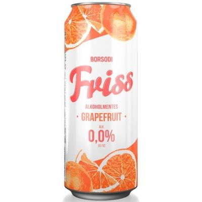 Borsodi Friss 0,0% Grapefr.24x0,5 dob