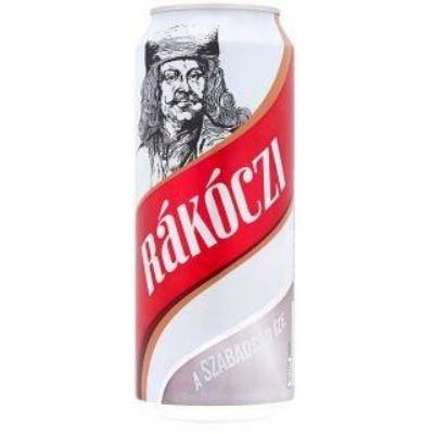 Rákóczi világos sör 4,1% 24x0,5dobozo