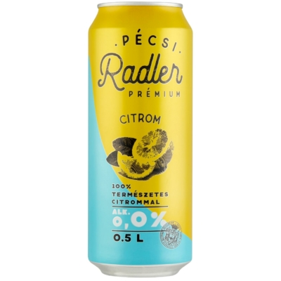 Radler kontroll Lemon0,0% 24x0,5doboz
