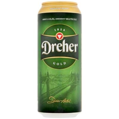 Dreher Gold       5,0% 24x0,5 dobozos