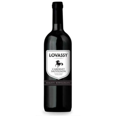 Lovassy Cabernet Sauv.száraz  0,75x6