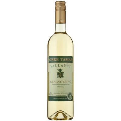 Gere Tamás Villányi Olaszrizling fehérbor 12,5% 750 ml