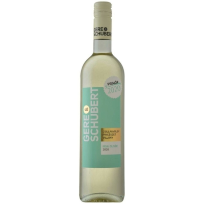 Gere & Schubert Irsai Olivér száraz fehérbor 11,5% 0,75 l